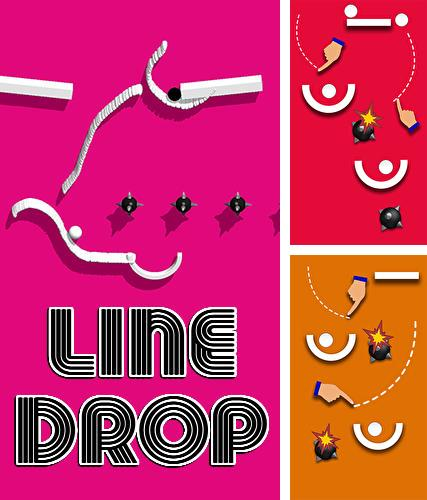 Line drop: Happy physics ball