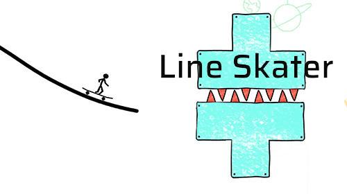 Line skater poster
