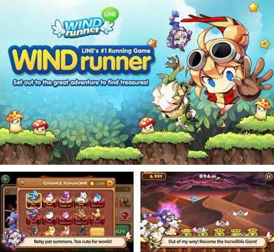 In addition to the game Tiny Story In Love for Android phones and tablets, you can also download Line Wind Runner for free.
