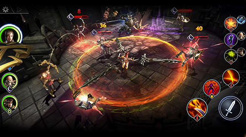 Screenshots von Lineage 2: Dark legacy für Android-Tablet, Smartphone.