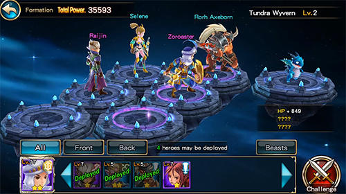 Lion hearts: Final clash screenshot 2