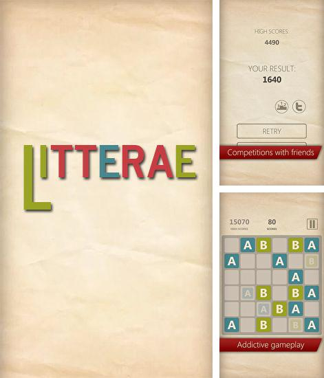 In addition to the game Pigs in Trees for Android phones and tablets, you can also download Litterae for free.