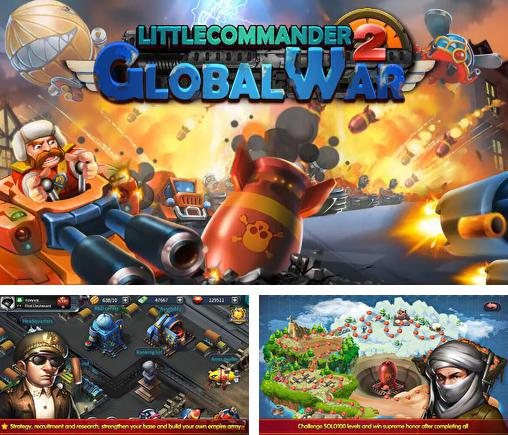 In addition to the game Little commander 2: Clash of powers for Android phones and tablets, you can also download Little commander 2: Global war for free.