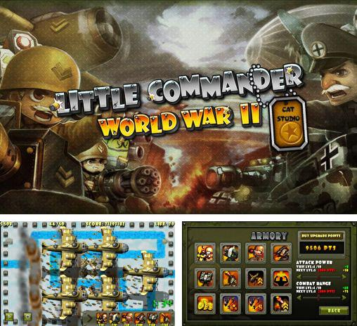 In addition to the game Little commander 2: Global war for Android phones and tablets, you can also download Little commander: WW2 TD for free.