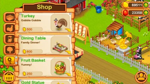 Screenshots von Little farm: Spring time für Android-Tablet, Smartphone.