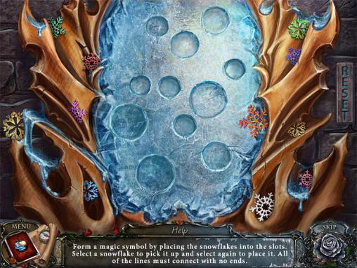 Screenshots von Living legends: Frozen beauty. Collector's edition für Android-Tablet, Smartphone.