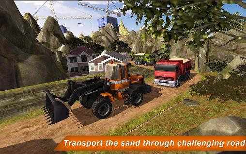 Loader and dump truck hill sim 2 картинка из игры 3