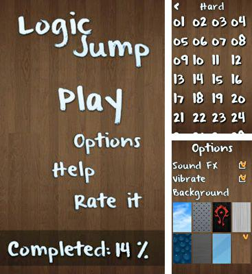 In addition to the game Jungle Ruins HD for Android phones and tablets, you can also download Logic Jump for free.