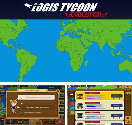 In addition to the game The terminal for Android phones and tablets, you can also download Logis tycoon: Evolution for free.