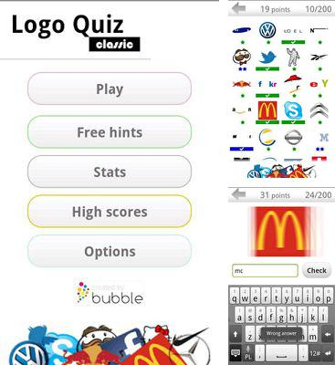 In addition to the game What's My IQ PRO for Android phones and tablets, you can also download Logos quiz for free.