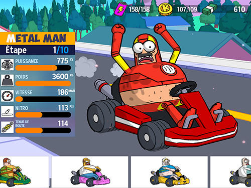 Lol karts: Multiplayer racing für Android spielen. Spiel Lol Karts: Multiplayer Rennen kostenloser Download.