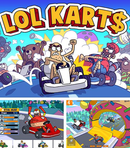 Lol karts: Multiplayer racing