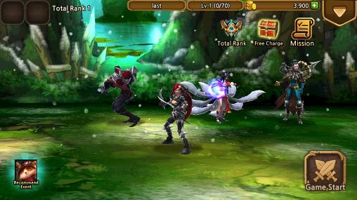 Screenshots of the LOL: Last attack global for Android tablet, phone.