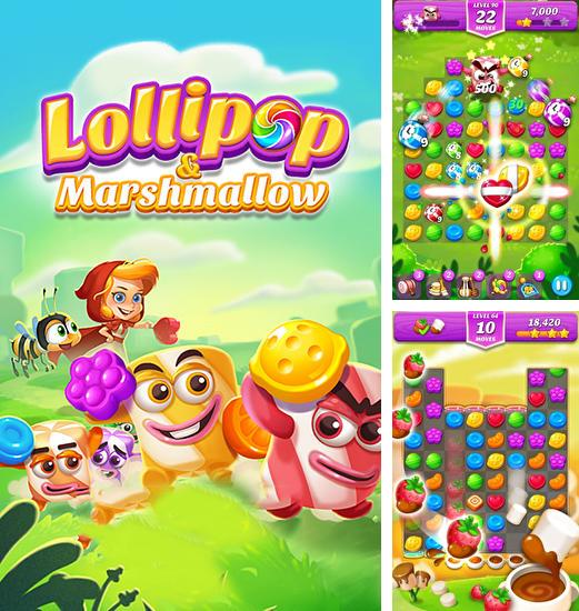 Lollipop and marshmallow match 3