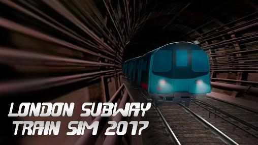 London subway train sim 2017 poster