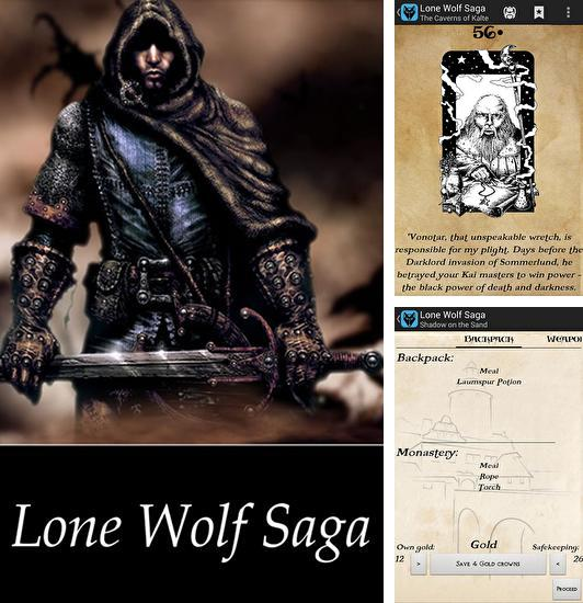 In addition to the game Blood of the Zombies for Android phones and tablets, you can also download Lone wolf saga for free.