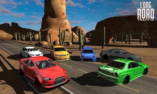 Long road traffic racing 3D