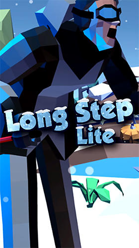 Long step: Ski race