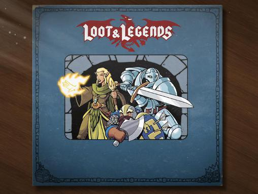 Loot and legends обложка