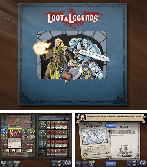In addition to the game Shelter for Android phones and tablets, you can also download Loot and legends for free.