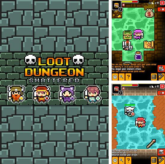 Loot dungeon: Shattered