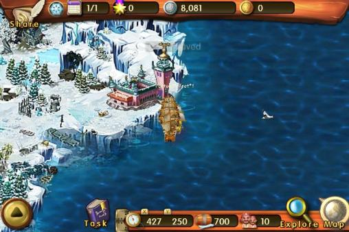 Écrans de Lord of the pirates: Monster pour tablette et téléphone Android.