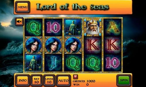 Kostenloses Android-Game Lord der Meere: Slot. Vollversion der Android-apk-App Hirschjäger: Die Lord of the seas: Slot für Tablets und Telefone.