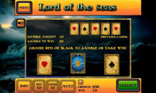 Screenshots von Lord of the seas: Slot für Android-Tablet, Smartphone.