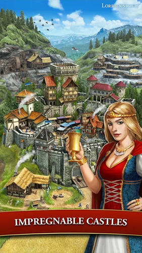 Get full version of Android apk app Lords and knights: Strategy MMO for tablet and phone.