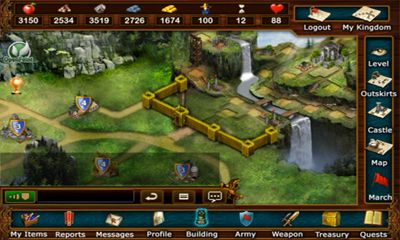 Screenshots do Lords At War - Perigoso para tablet e celular Android.