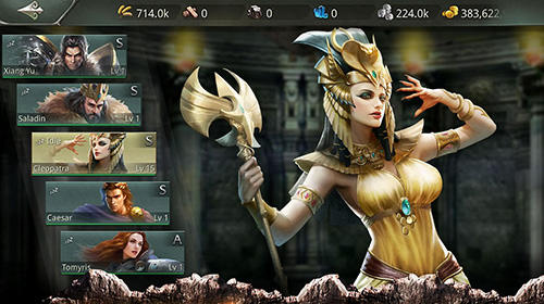 Screenshots do Lords of conquest - Perigoso para tablet e celular Android.