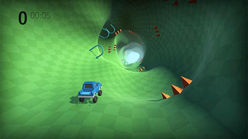 Screenshots von Lost driver: Endless tunnel für Android-Tablet, Smartphone.