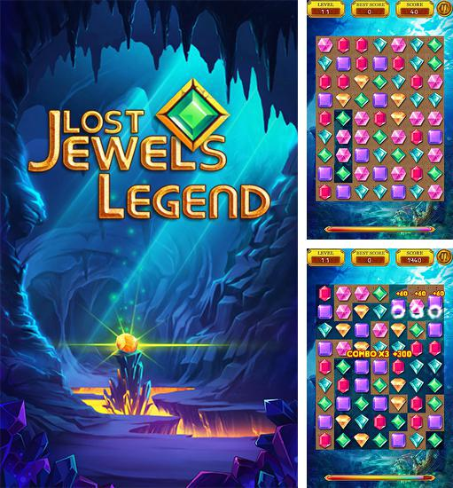 In addition to the game Jewels saga for Android phones and tablets, you can also download Lost jewels legend for free.