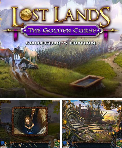 En plus du jeu Maison: Evasion pour téléphones et tablettes Android, vous pouvez aussi télécharger gratuitement Terres perdues 3: Or maudit. Edition de collection , Lost lands 3: The golden curse. Collector's edition.