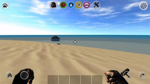 Screenshots von Lost world: Rust survival für Android-Tablet, Smartphone.