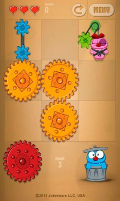 Screenshots of the Love Gears for Android tablet, phone.