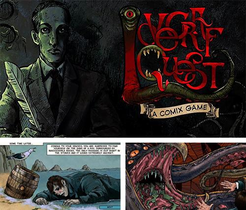 Lovecraft quest: A comix game