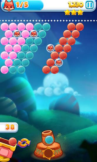 Lovely fox bubble screenshot 1