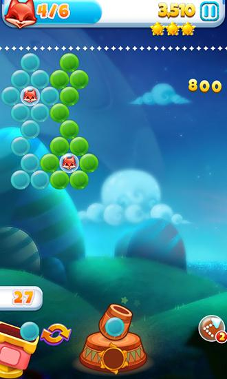 Lovely fox bubble screenshot 2