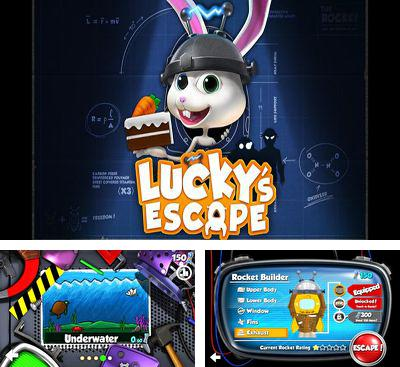 In addition to the game Kew Kew Sky Glider Squirrel for Android phones and tablets, you can also download Lucky's Escape for free.