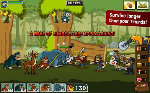 Lumberwhack: Defend the wild screenshot 4