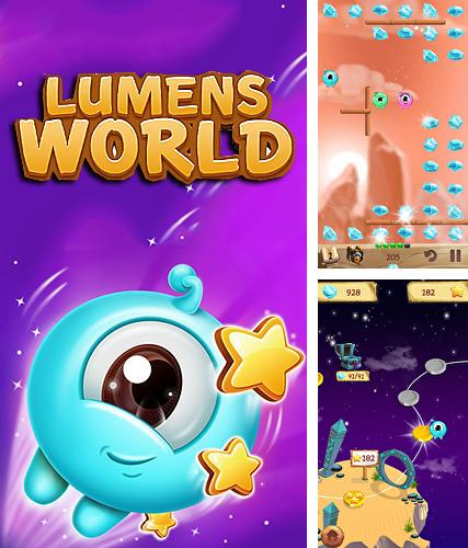 Lumens world: Fun stars and crystals catching game