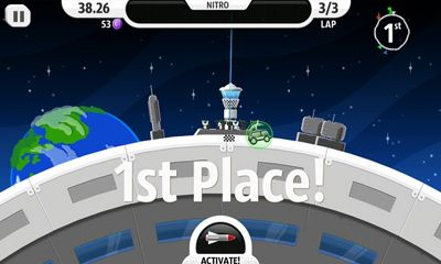 Screenshots von Lunar Racer für Android-Tablet, Smartphone.