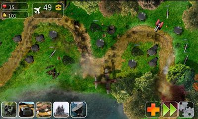 Juega a Lush Tower Defense para Android. Descarga gratuita del juego Defensa de la Torre Lush .
