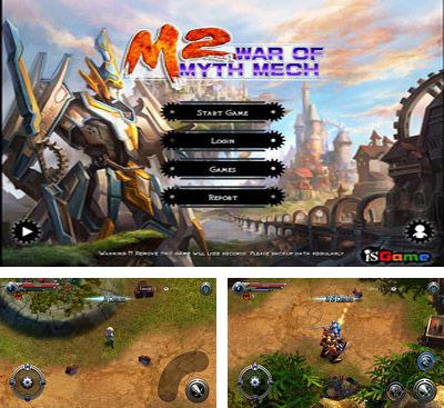 In addition to the game Dueling Blades for Android phones and tablets, you can also download M2: War of Myth Mech for free.
