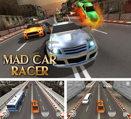 In addition to the game Moto cop dash for Android phones and tablets, you can also download Mad car racer for free.