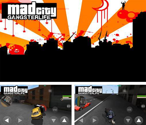 In addition to the game Gangstar: Miami Vindication for Android phones and tablets, you can also download Mad city: Gangster life for free.