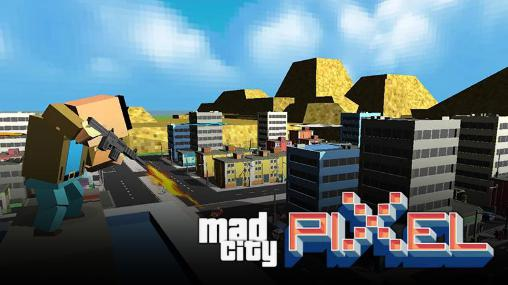 Mad city: Pixel's edition poster