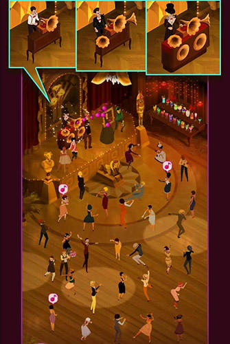 Screenshots von Mad for dance: Taptap dance für Android-Tablet, Smartphone.