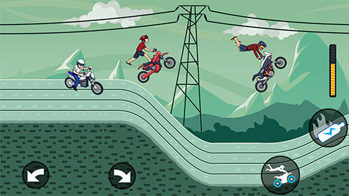Kostenloses Android-Game Mad Motor: Motocross Rennen. Dirt Bike. Vollversion der Android-apk-App Hirschjäger: Die Mad motor: Motocross racing. Dirt bike racing für Tablets und Telefone.